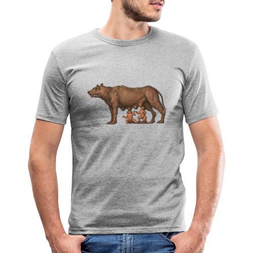 Wilczyca kapitolińska   Capitoline Wol - Obcisła koszulka męska