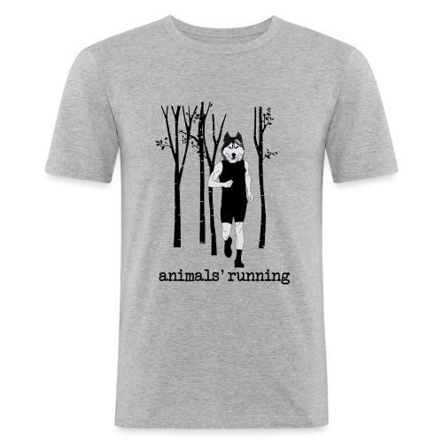 Loup running - T-shirt près du corps Homme