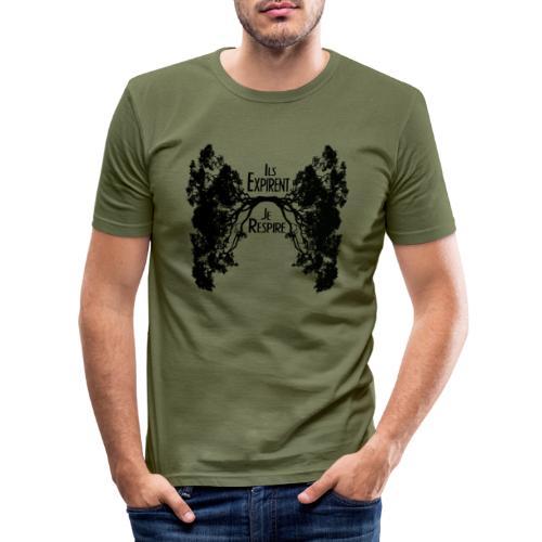 Oxygène - T-shirt près du corps Homme