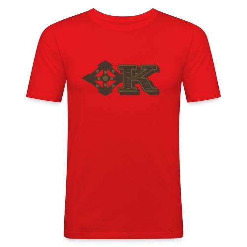 Kenya Airways Logo - Men's Slim Fit T-Shirt