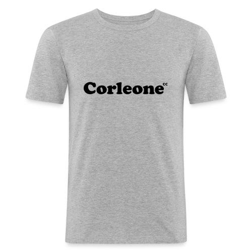 schrift corleone - Männer Slim Fit T-Shirt