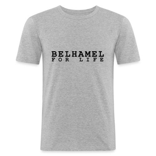 BELHAMEL - Mannen slim fit T-shirt