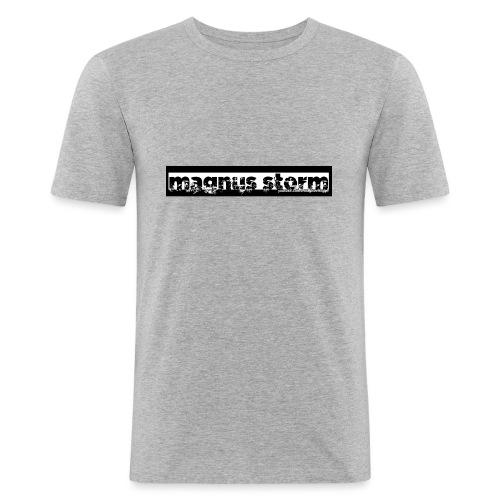 Unisex Hettegenser med logo - Slim Fit T-skjorte for menn
