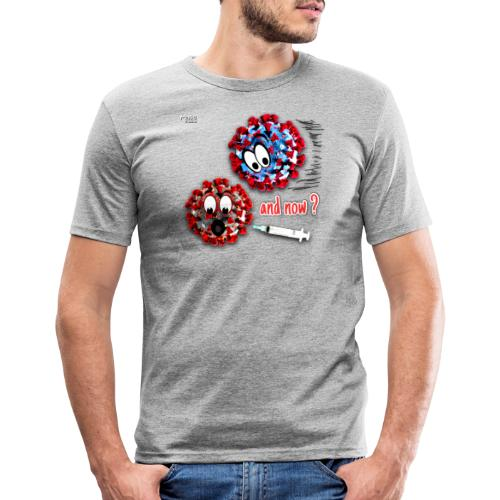 The vaccine ... and now? - T-shirt près du corps Homme