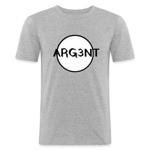 ARG3NT - T-shirt près du corps Homme