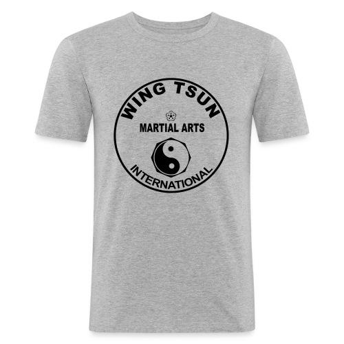 Wing Tsun - Männer Slim Fit T-Shirt