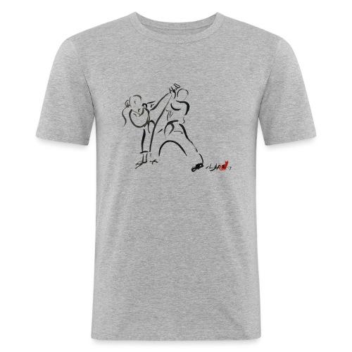 KARATE 1 - Maglietta aderente da uomo