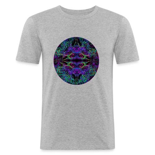 Psychedelic Mandala II - Männer Slim Fit T-Shirt