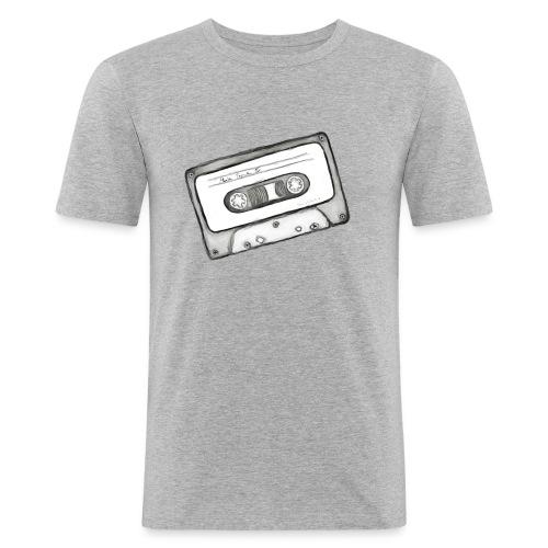 kassette Mix-Tape - Männer Slim Fit T-Shirt