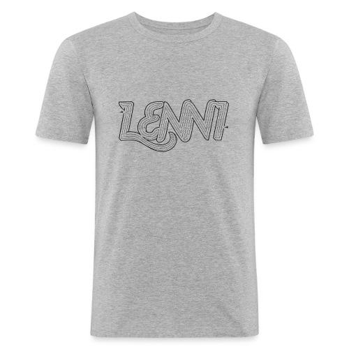 Lenni transparent - Miesten tyköistuva t-paita