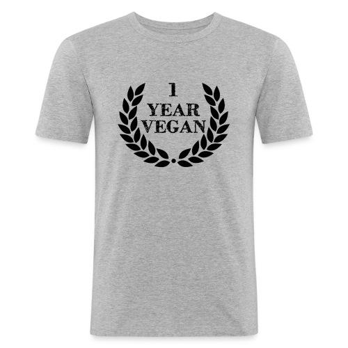 1_year - Men's Slim Fit T-Shirt