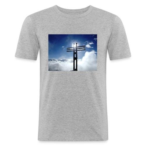 Bergzeit 003 - Männer Slim Fit T-Shirt