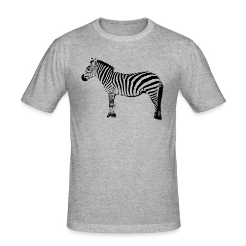 Premium Hoodie Woman | I am a freaking ZEBRA - Men's Slim Fit T-Shirt