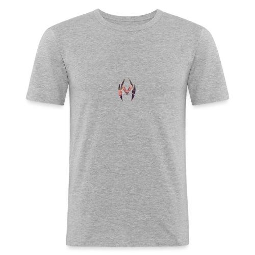MRVL Flower Design - Men's Slim Fit T-Shirt