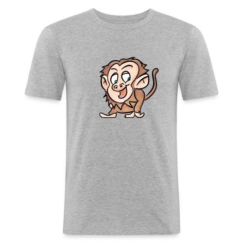 Aap - Mannen slim fit T-shirt