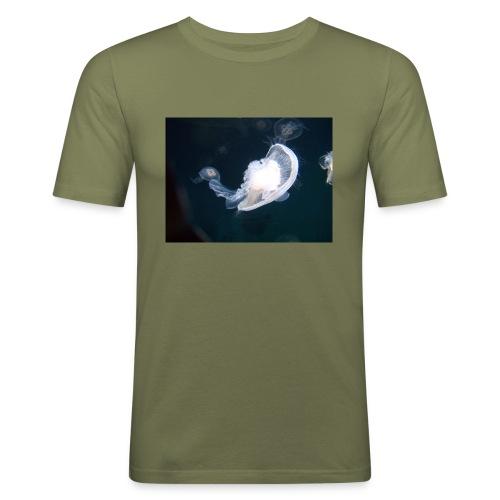 Leijailen - Miesten tyköistuva t-paita