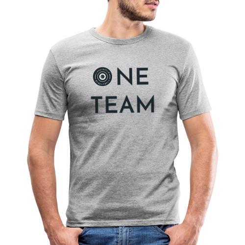 One Team (green) - Männer Slim Fit T-Shirt