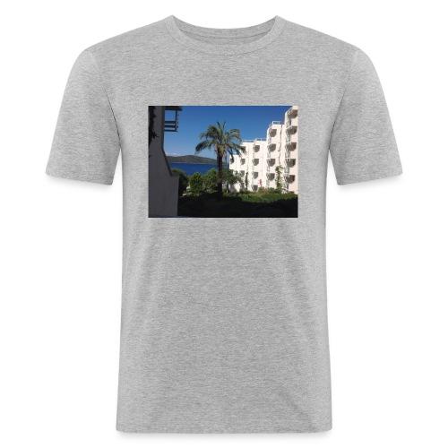 IMG 0695 - Herre Slim Fit T-Shirt
