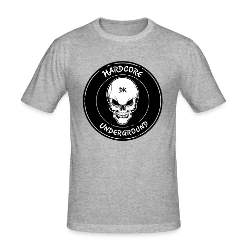 UndergrounDK Clothing est. 2017 - Herre Slim Fit T-Shirt