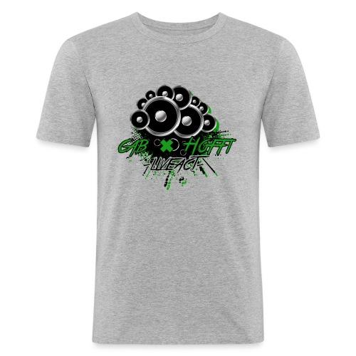 cab & Hoffi -liveact- - Männer Slim Fit T-Shirt