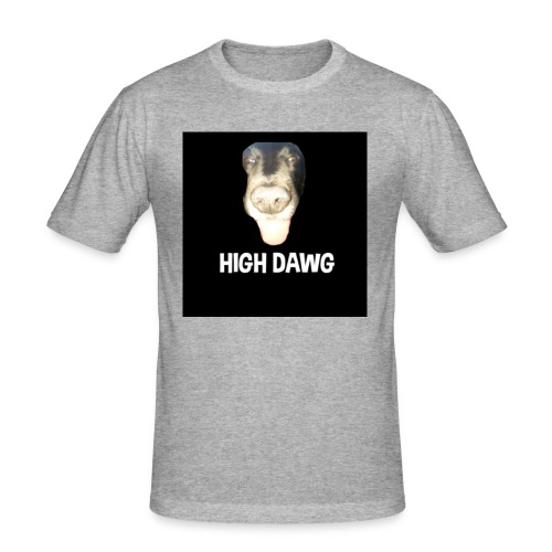 HIGH DAWG - T-Shirt - Slim Fit T-skjorte for menn