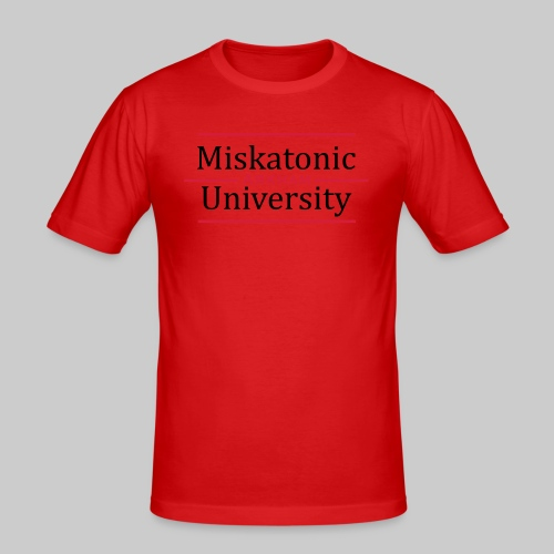 Miskatonic University - Männer Slim Fit T-Shirt