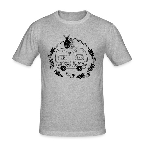 Norwegenliebe - Männer Slim Fit T-Shirt