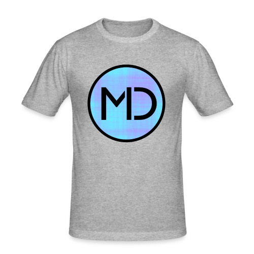 MD Blue Fibre Trans - Men's Slim Fit T-Shirt