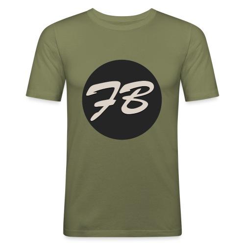 TSHIRT-INSTAGRAM-LOGO-KAAL - Mannen slim fit T-shirt