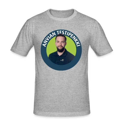 Lasten ruokalappu - Miesten tyköistuva t-paita