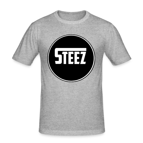 Steez t-Shirt black - slim fit T-shirt