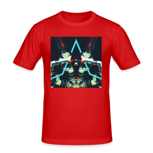 Energize Fields by RNZO - Mannen slim fit T-shirt