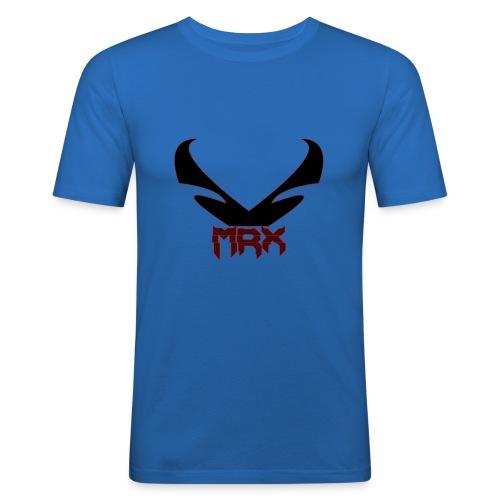 Black MRX - Männer Slim Fit T-Shirt