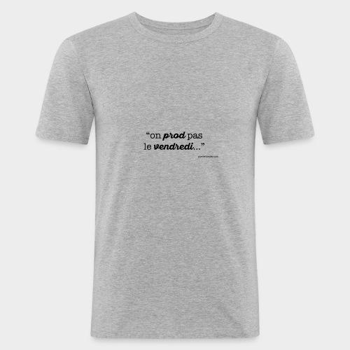 vendredi-VECT - T-shirt près du corps Homme