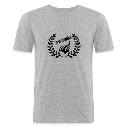 logo22222222 - Obcisła koszulka męska