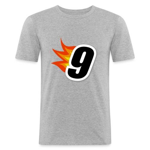 9nnis Logo - Slim Fit T-shirt herr