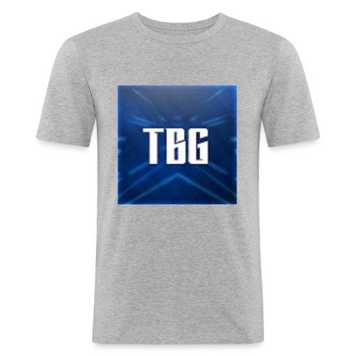 TBG Kleding - Mannen slim fit T-shirt