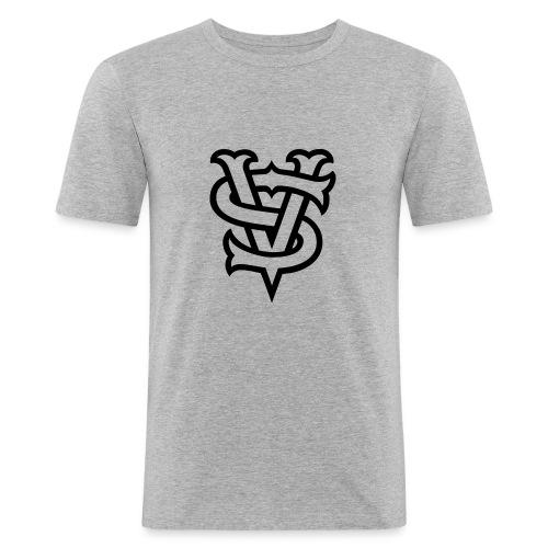 VerticalSide Records - Männer Slim Fit T-Shirt