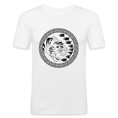 Anklitch - Mannen slim fit T-shirt