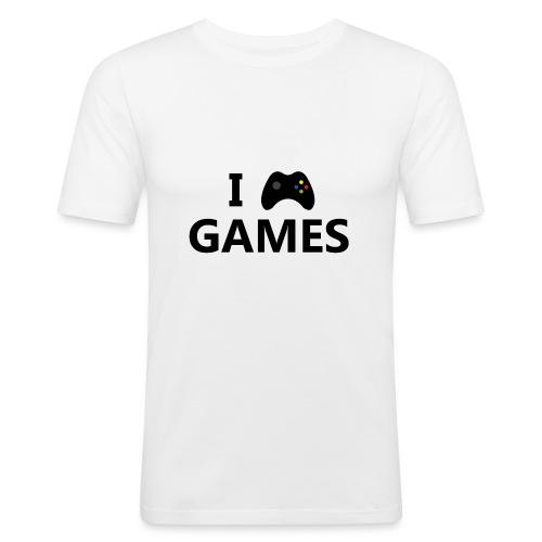 I Love Games 3 - Camiseta ajustada hombre