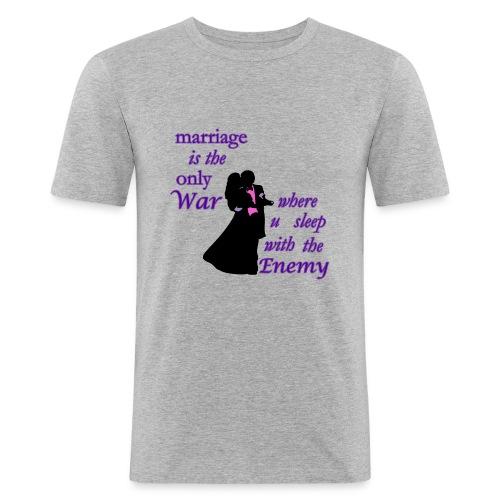 marriage_funny tshirts - Men's Slim Fit T-Shirt