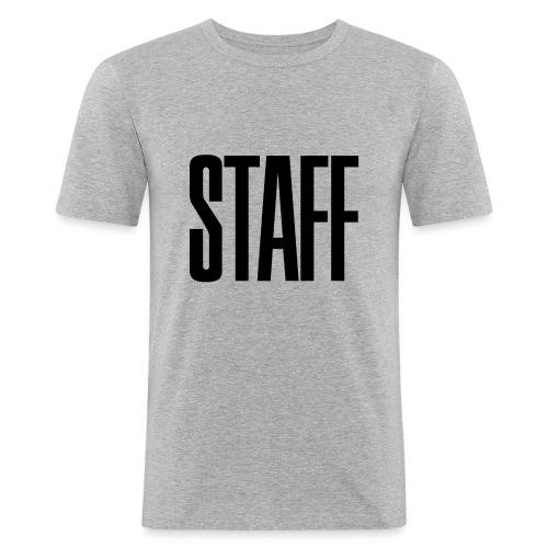 Staff. - Männer Slim Fit T-Shirt