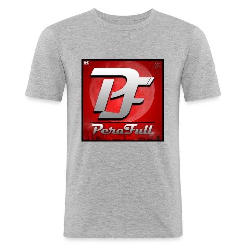 PeraFull Logo 2016 - Camiseta ajustada hombre