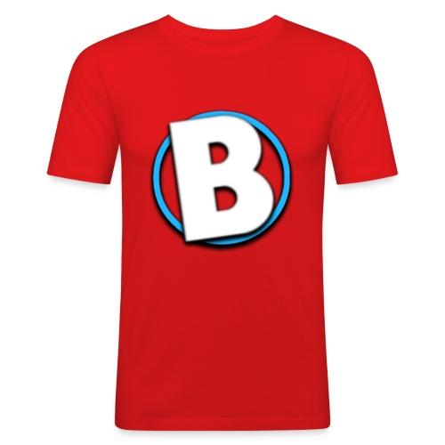 Bumble Logo - Men's Slim Fit T-Shirt