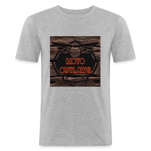 Moto Outlaws - Männer Slim Fit T-Shirt