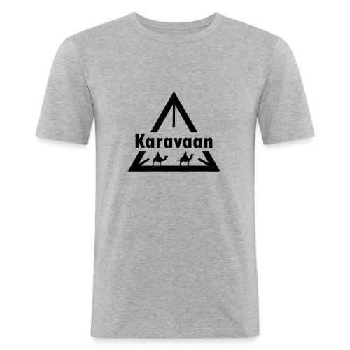 Karavaan Black (High Res) - slim fit T-shirt