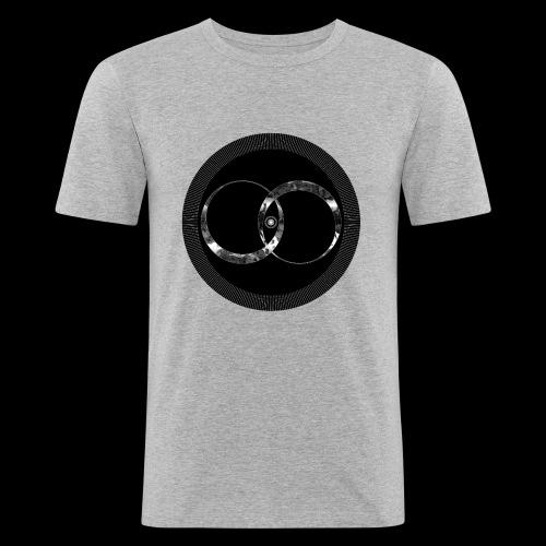 Distortion - T-shirt près du corps Homme