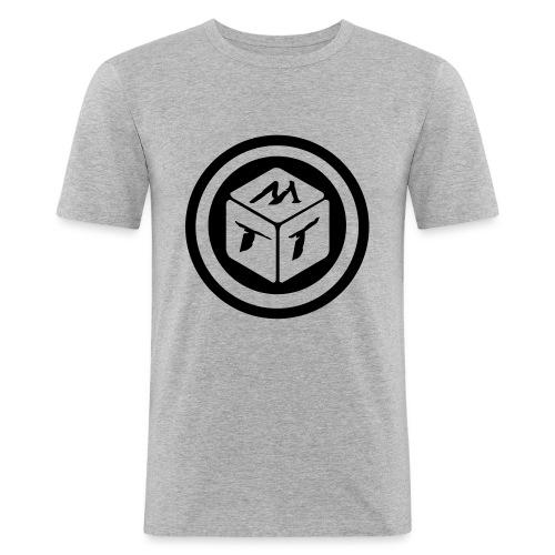 mb logo klein - Männer Slim Fit T-Shirt