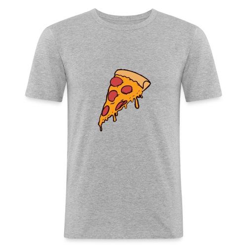 Pizza - Camiseta ajustada hombre