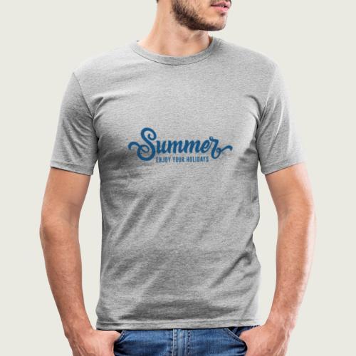 Summer - T-shirt près du corps Homme